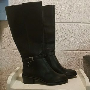 New Chaps Rhiannan Black Boot - Size 6.5